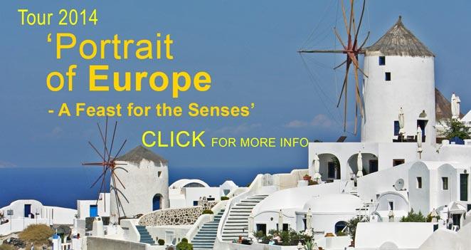 Portraits of Europe - European Art Tour