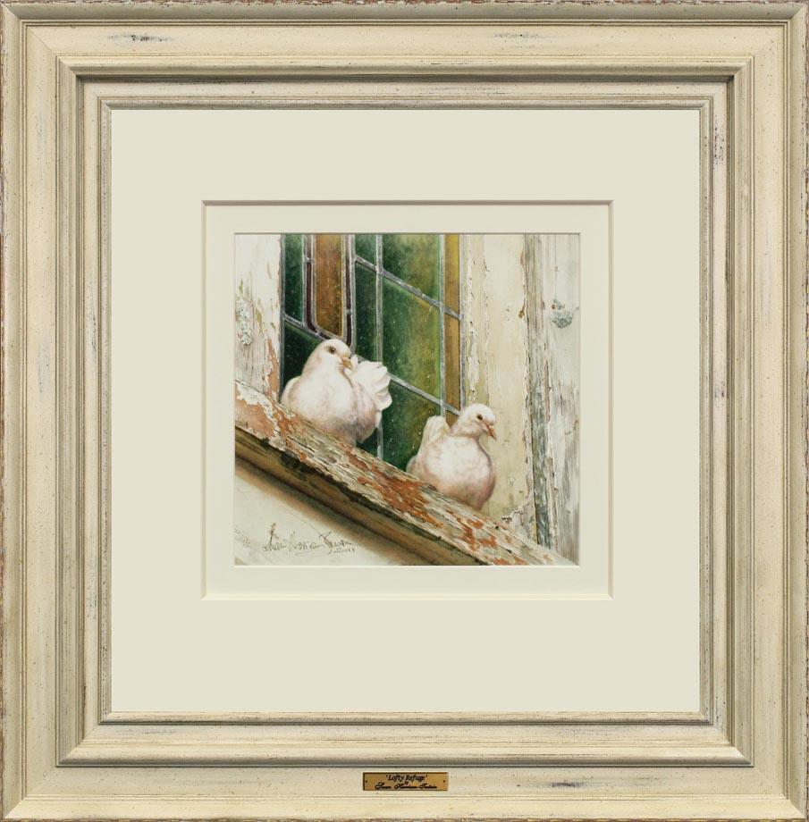 Lofty Refuge framed
