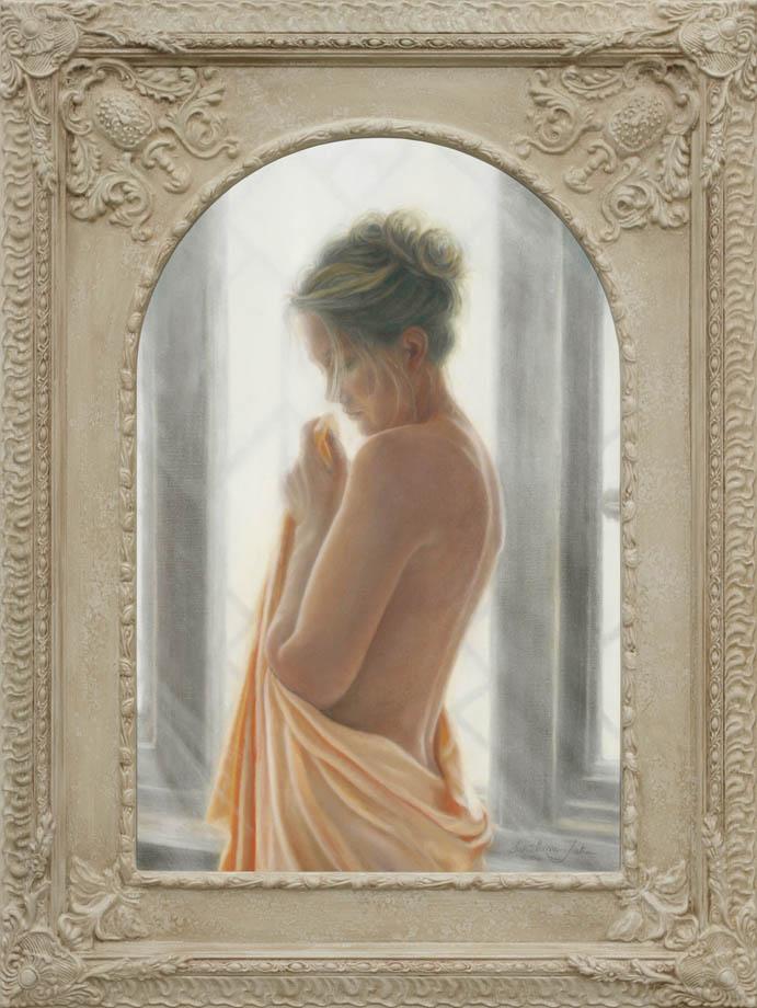 So Far Away framed - Oil on Belgian Linen 29″ x 19 1/4″ 740 mm x 490 mm
