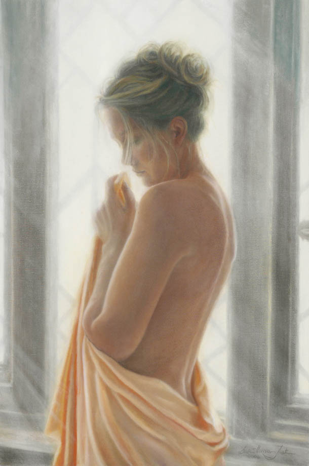 'So Far Away' - Figurative Painting - Oil on Belgian Linen 29″ x 19 1/4″ 740 mm x 490 mm