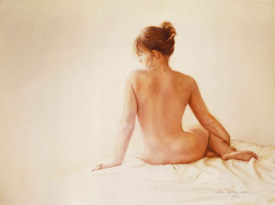 'Voyage de Vie' - Figurative Painting - Watercolor on Arches 300gsm hot pressed paper 21″ x 23″ 530 mm x 300 mm