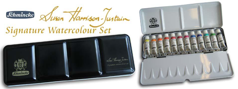 Schmincke Susan Harrison-Tustain Signature Watercolour Set