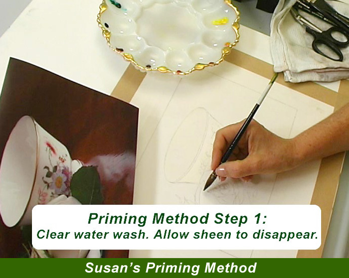 Painting Watercolor My Way with Susan Harrison Tustain   for all skill levels