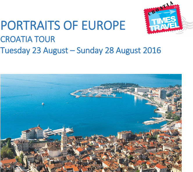 Portraits of Europe - Art Tour, Europe