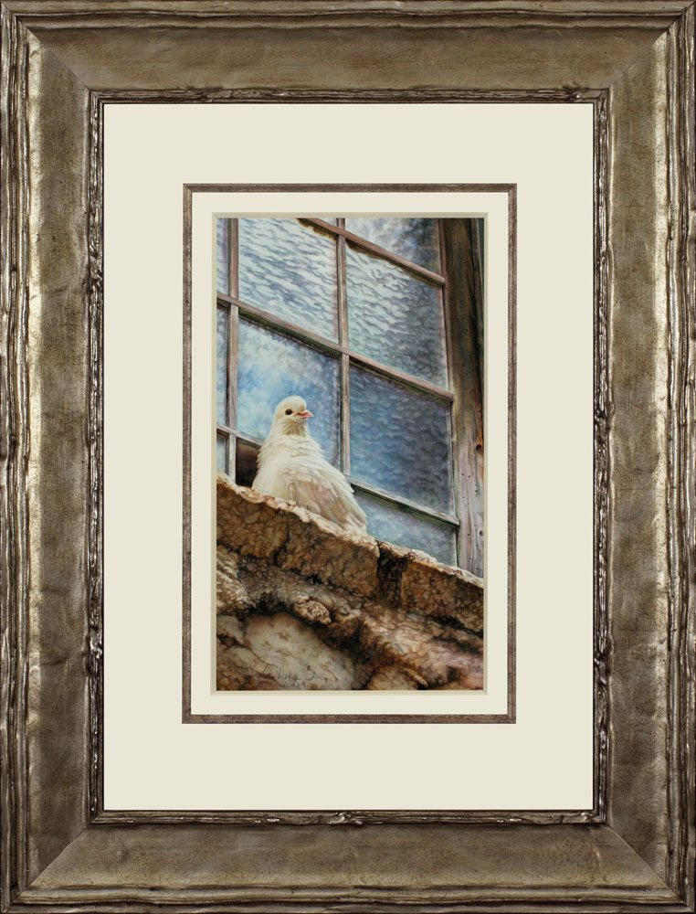Liberty framed - Watercolor on Arches 300 gsm Hot Pressed paper Size: 19″ x 11″ 480 mm x 280 mm