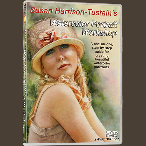 watercolor portrait workshop with susan harrison tustain for all
