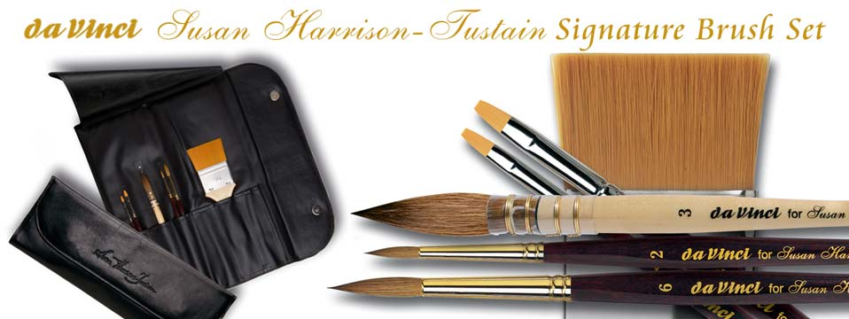 da Vinci Susan Harrison-Tustain Signature Brush Set