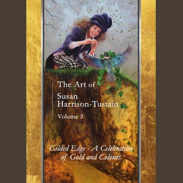 art, book, exhibition, gold leaf, Susan Harrison-Tustain